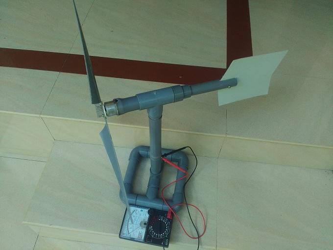 how to make a small wind turbine pdf