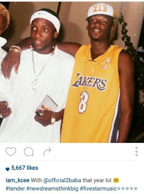Kcee Shares Throwback Photo With 2face