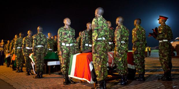 Al Shabaab Islamists kill 200 Kenyan soldiers