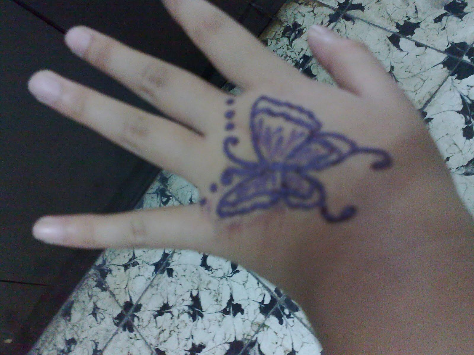 Gambar Henna Di Tangan Anak Anak Balehenna