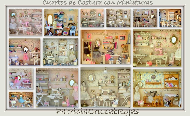Patricia Cruzat Artesania y Color: Cuadro CUARTO DE COSTURA con ...