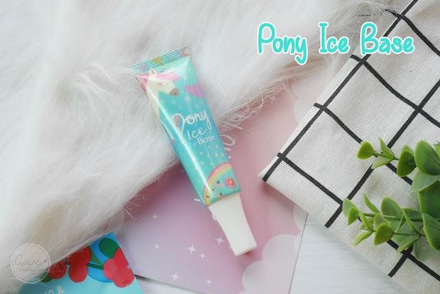 :: รีวิว Pony Ice Base เบสน้ำแข็งกันแดด ผิวสวยใสในขั้นตอนเดียว ::