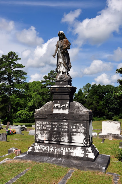 Odd Fellows Cemetery Monument Macon, MS