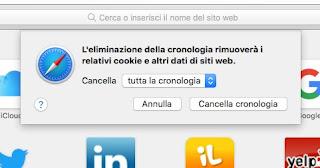 cookie su Safari