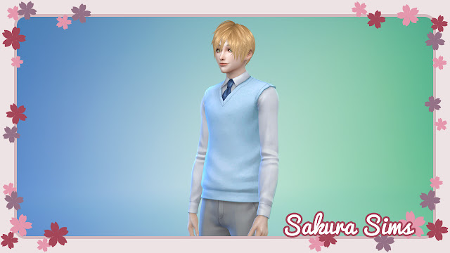 my sims4 CC - Sweater01-swatch, downloadable content