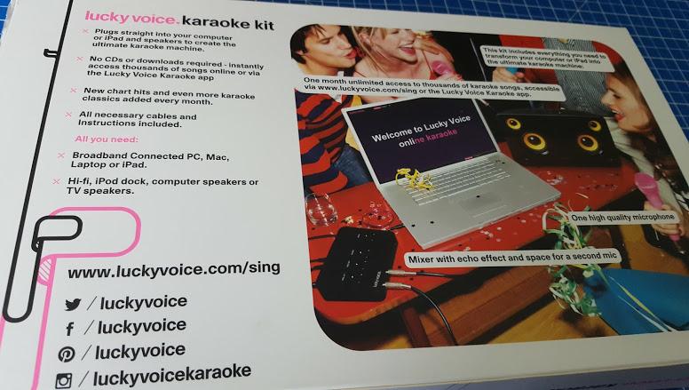 The Brick Castle: Lucky Voice Home Karaoke Kit Review