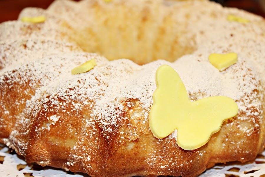 BIZCOCHO DE NATA (crema de leche) Y LIMÓN {MUY RICO}