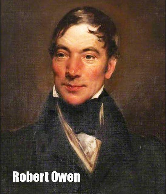 Foto Robert Owen pelopor sosialisme Inggris