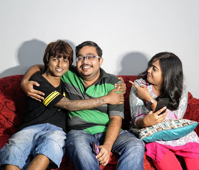 Sourajit Saha With Sayan Ray And Sudipta Roy 1