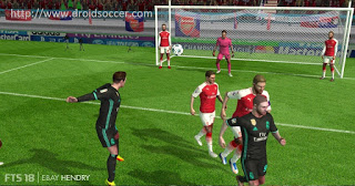 First Touch Soccer 2018 [FTS 18] Apk And Obb Download