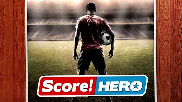 تحميل لعبة Score Hero v1.75 مهكرة للاندرويد (اخر اصدار) تسديدات غير محدودة