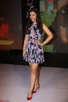 Kyra Dutta in a Deep neck Small Dress at Shamanthakamani pre release function ~  Exclusive 096.JPG