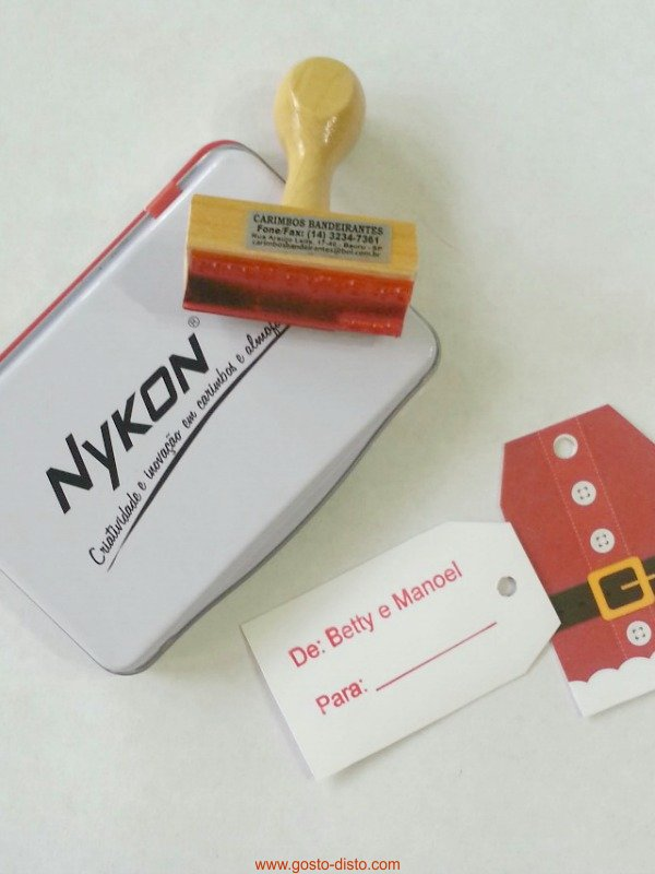 Etiquetas de Natal para imprimir