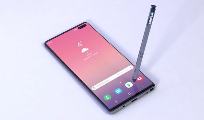 Prediksi Tampilan Samsung Galaxy Note 10