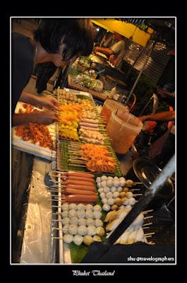 bangla road, phuket, pantai patong, thailand, pasar malam phuket, phuket night market, kuliner di thailand