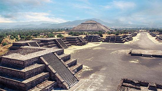 Teotihuacan - Vista Aérea
