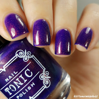 Tonic Polish Unicorn Pee Collection Curio Swatches and Review