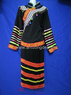 bán cho thuê trang phục các dân tộc việt nam