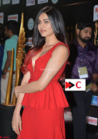 Adah Sharma in Red Deep Neck Spicy Gown ~  Exclusive 31.jpg
