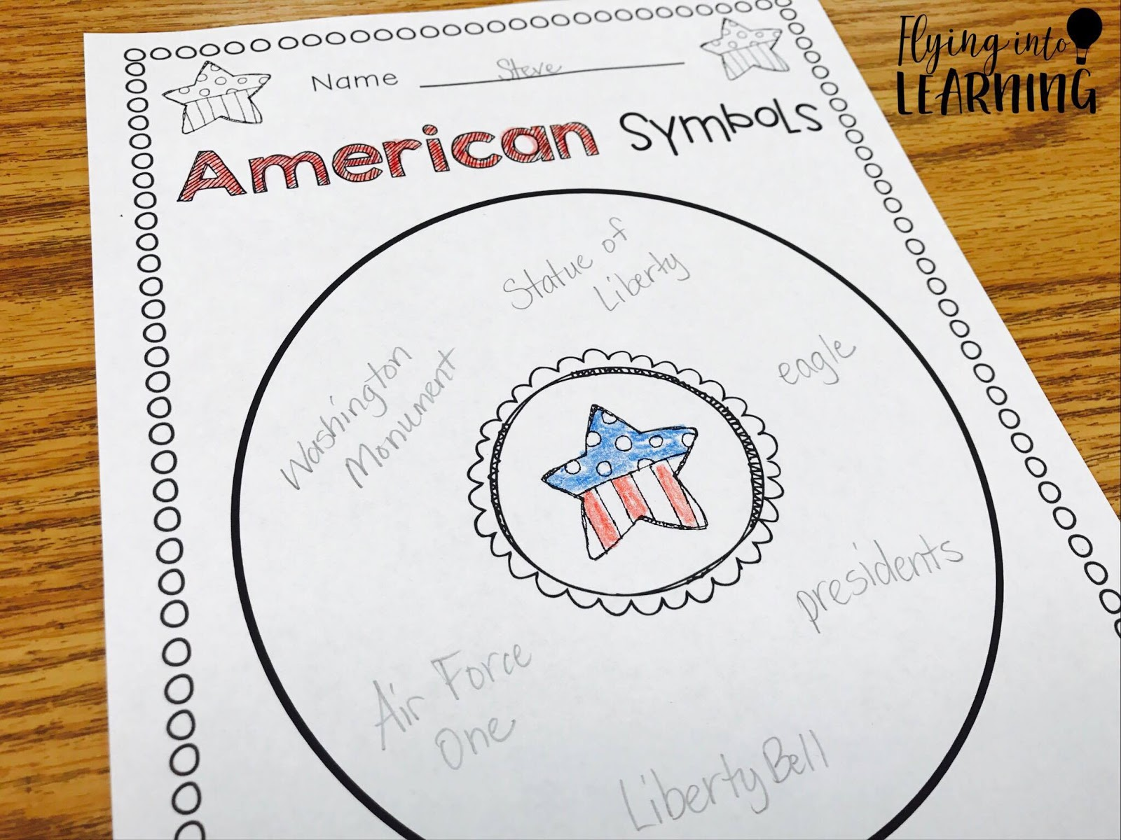 Teaching ideas for american symbols flying into first grade american symbols activities biocorpaavc Choice Image