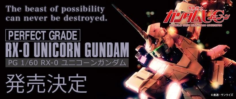 PG 160 RX-0 Unicorn Gundam