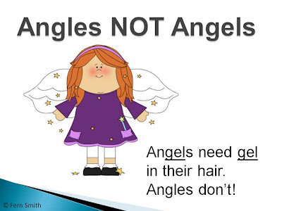 Fern Smith's Free Download for Second and Third Grade, an Angles Introduction PowerPoint!