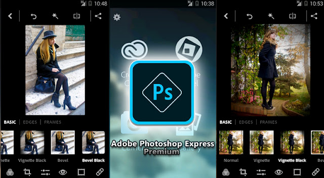 Adobe Photoshop Express Premium v3.1.105 Apk Full Features