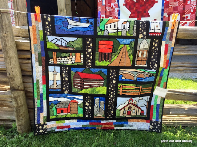 {Erin Out and About} Quilts at the Creek