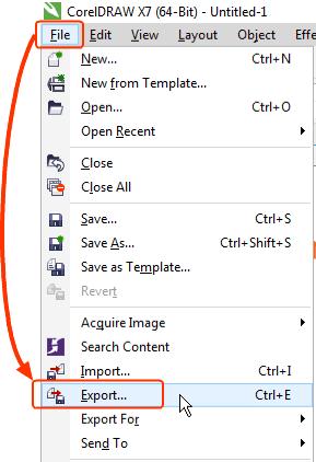 Cara Buat Background Image Transparant dengan CorelDraw