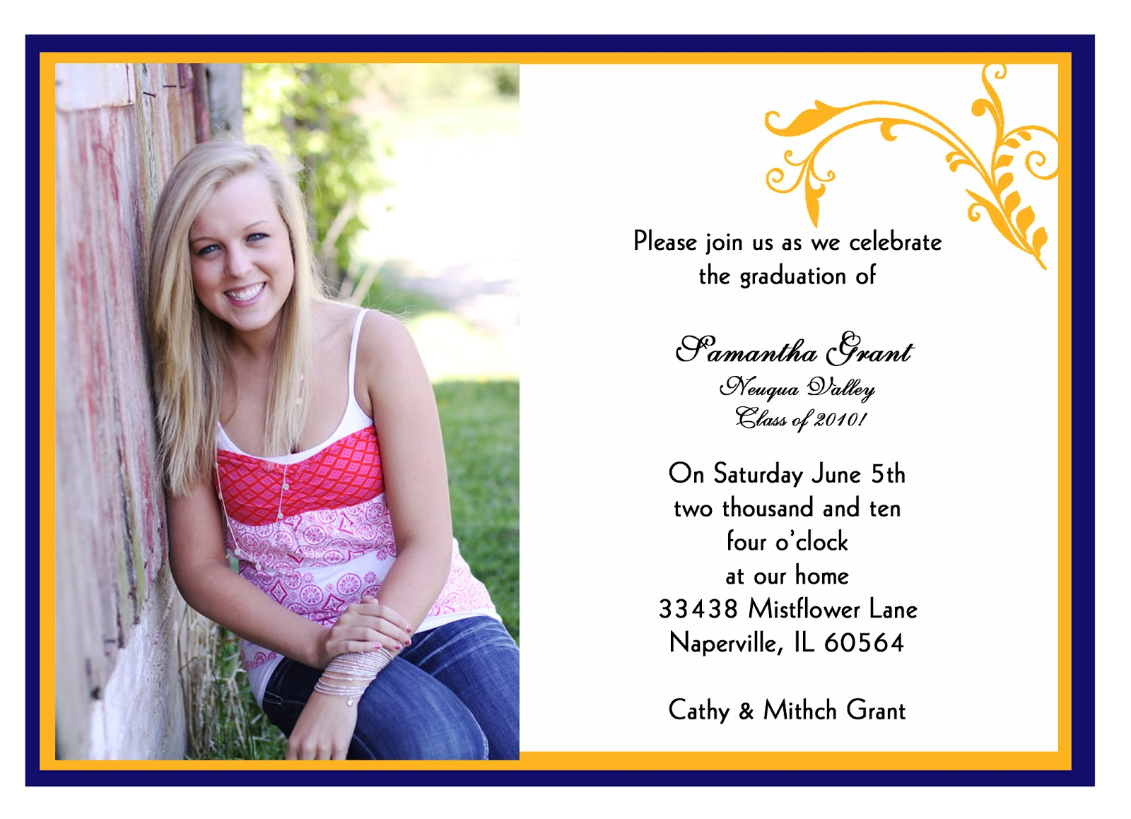 graduation announcements templates free