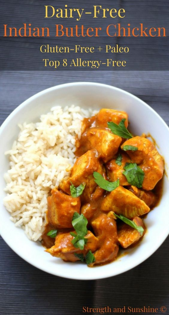 Easy Dairy-Free Indian Butter Chicken