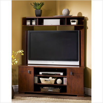 Living Room Entertainment Devices Corner Tv Armoire A Rustic Feel