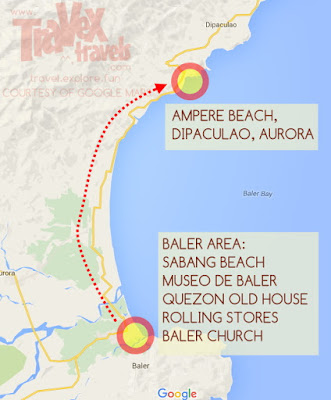 Baler Tourist Spots, Maps and Guide - Travex Travels ...