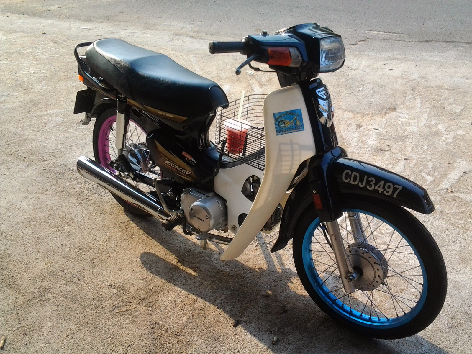 Download Ide 62 Modifikasi Motor Honda Ex5 Dream Terupdate Pojok