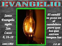 Resultado de imagen para En aquel tiempo, dijo Jesús a la gente: «Nadie enciende un candil