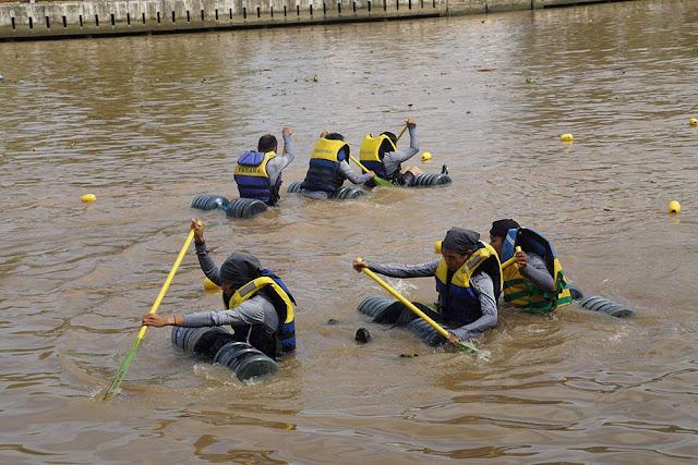 Galon Rafting Competition Berhasil Tarik Perhatian Masyarakat