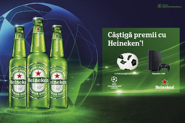 Meciurile UEFA Champions League alaturi de Heineken sunt un spectacol de neratat!