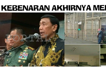 Mantab! BRAVO TNI!! Wiranto: Senjata Impor Polri Akan Dititipkan ke TNI
