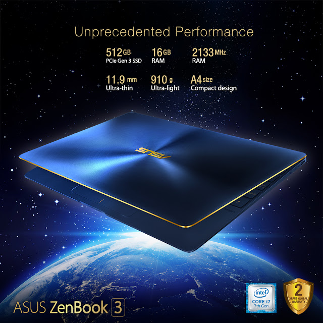The world's most prestigious laptop with unprecedented performance is now available in the Philippines!