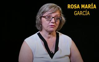 ROSA MARÍA GARCÍA. Intentaron hacerle creer que la fusilarían en cualquier cuneta...