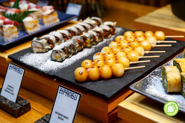 Шведский стол суши в москве