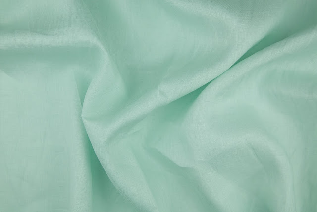 Soft Emerald Handkerchief Linen Fabric