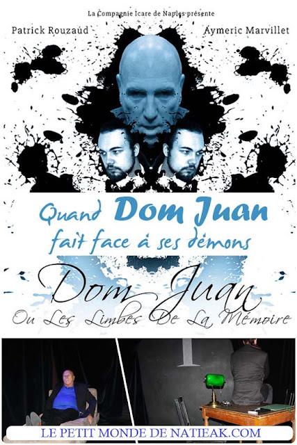 avis sur la pièce de théâtre Dom Juan ou les limbes de la mémoire