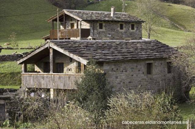 Cabañas pasiegas de Cantabria