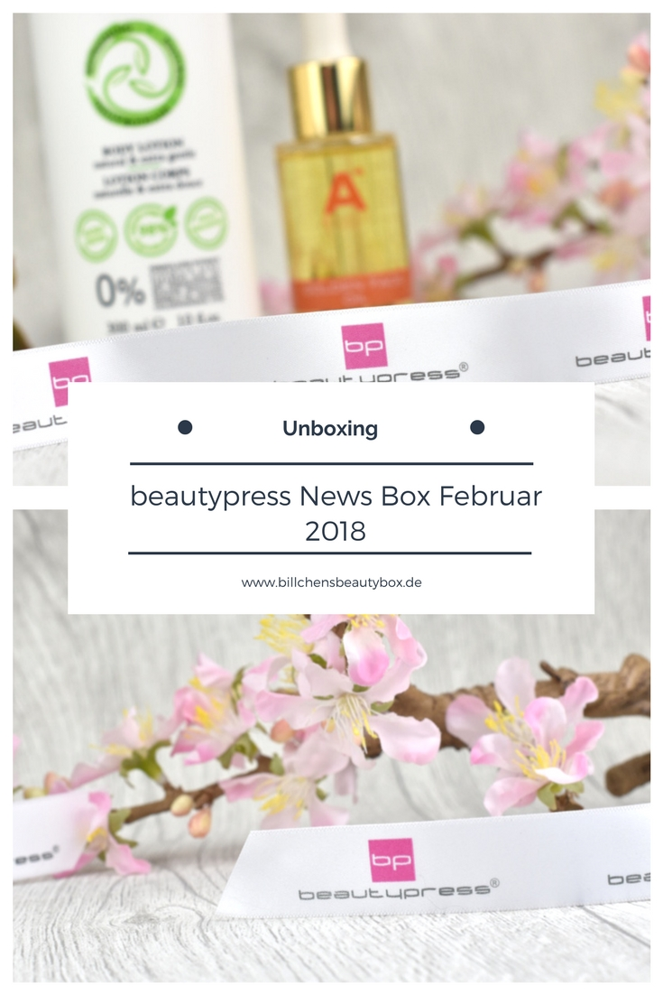 beautypress News Box Februar 2017 - Unboxing und Inhalt
