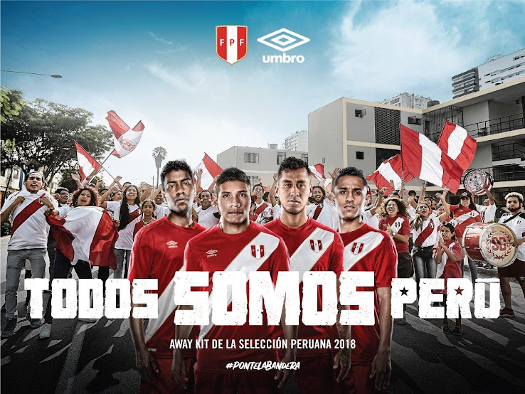 142e27696 The Peru away kit for the 2018 World Cup was revealed today ahead of its  full release on 5 March. It complements the traditional home strip that was  ...