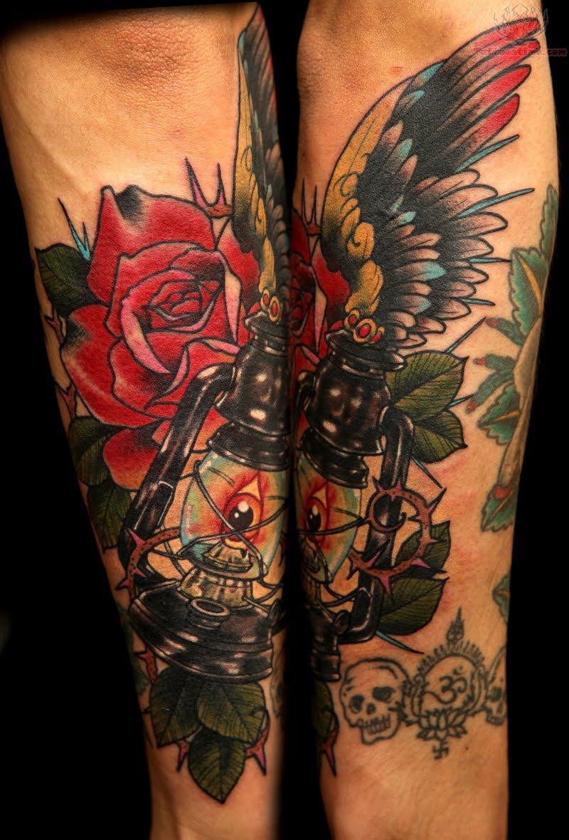 Rose Sleeve Tattoos: Rose Sleeve Tattoos