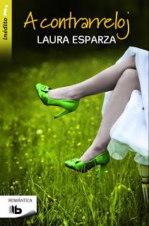 Portada del libro A contrarreloj de Laura Esparza