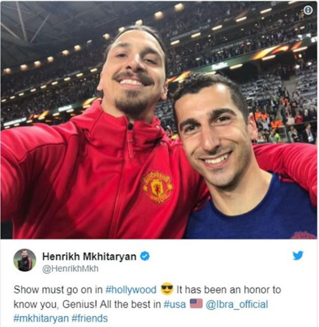"""Ibrahimovic chính thức chia tay MU: Ra đi như """"vị thần"""", đồng đội nghẹn ngào 3"""