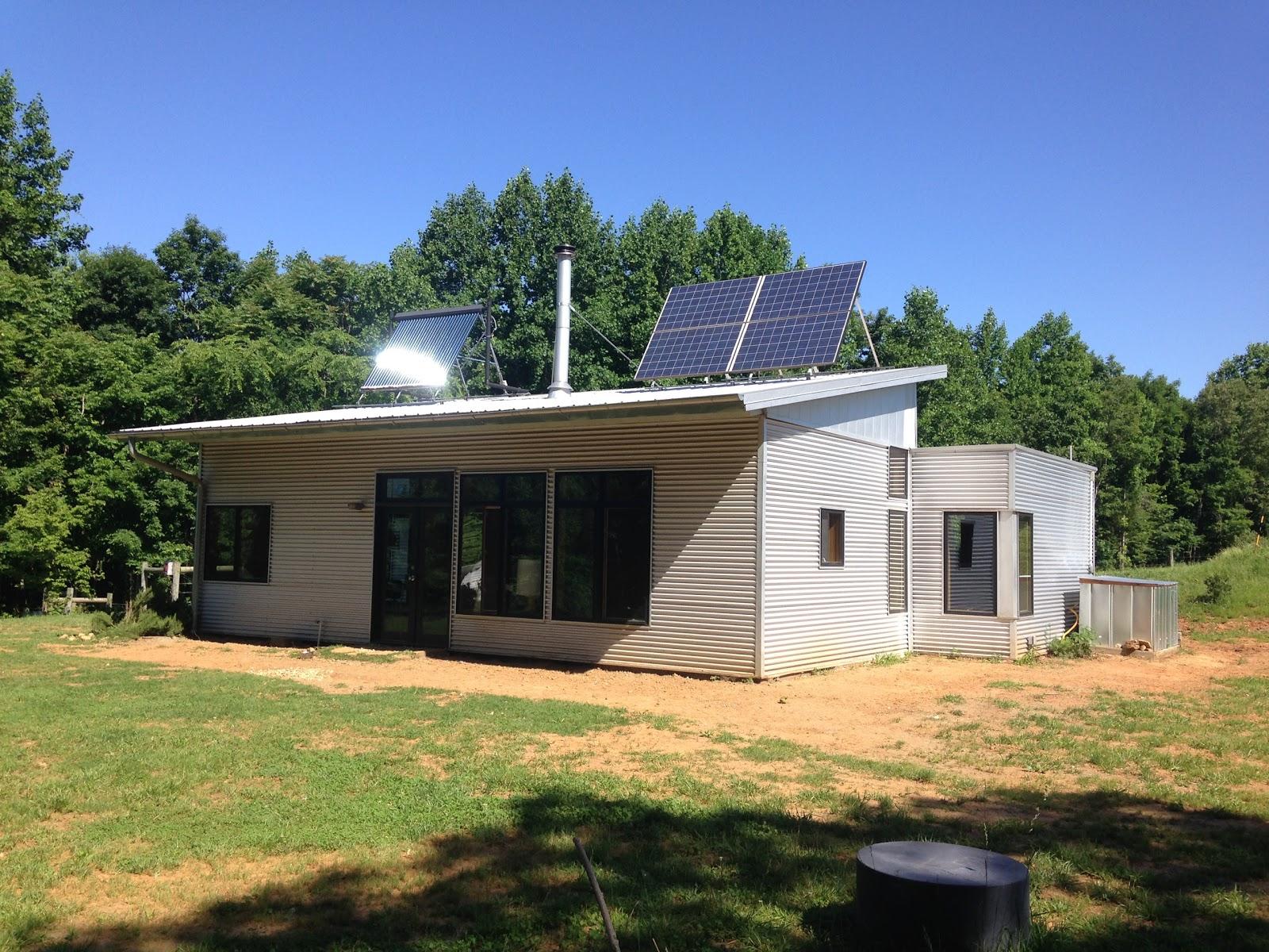 Off The Grid Prefab Homes Off Grid Air Conditioning A Modern Prefab House On Minimal Solar